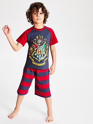 Harry Potter Boys' Short Pyjamas, Red