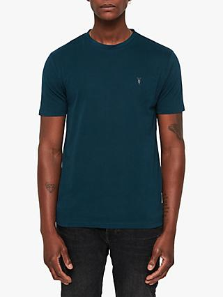 AllSaints Brace Short Sleeve T-Shirt, Dawn Green