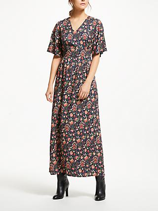 People Tree V&A Yasmin Maxi Dress, Multi