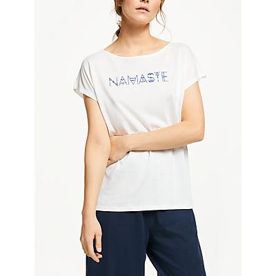 People Tree Yoga Namaste T-Shirt, White