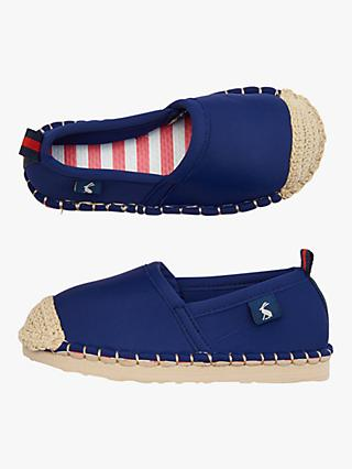 Little Joules Children's Ocean Flipadrille Shoes, Navy