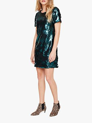 Damsel in a Dress Montana Sequin Dress, Green