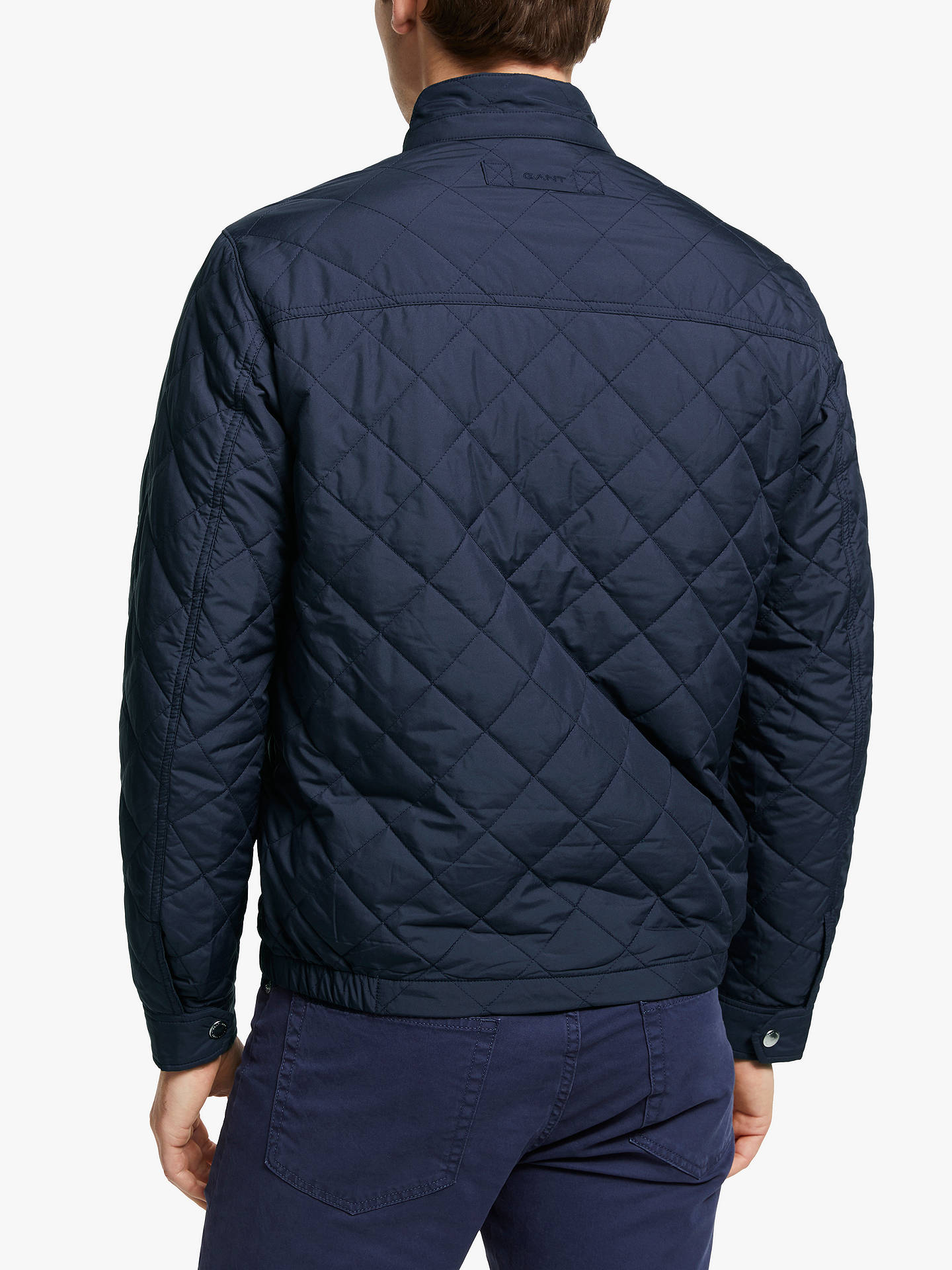 best service 200ac ec50b GANT The Quilted Windcheater Jacket at John Lewis & Partners