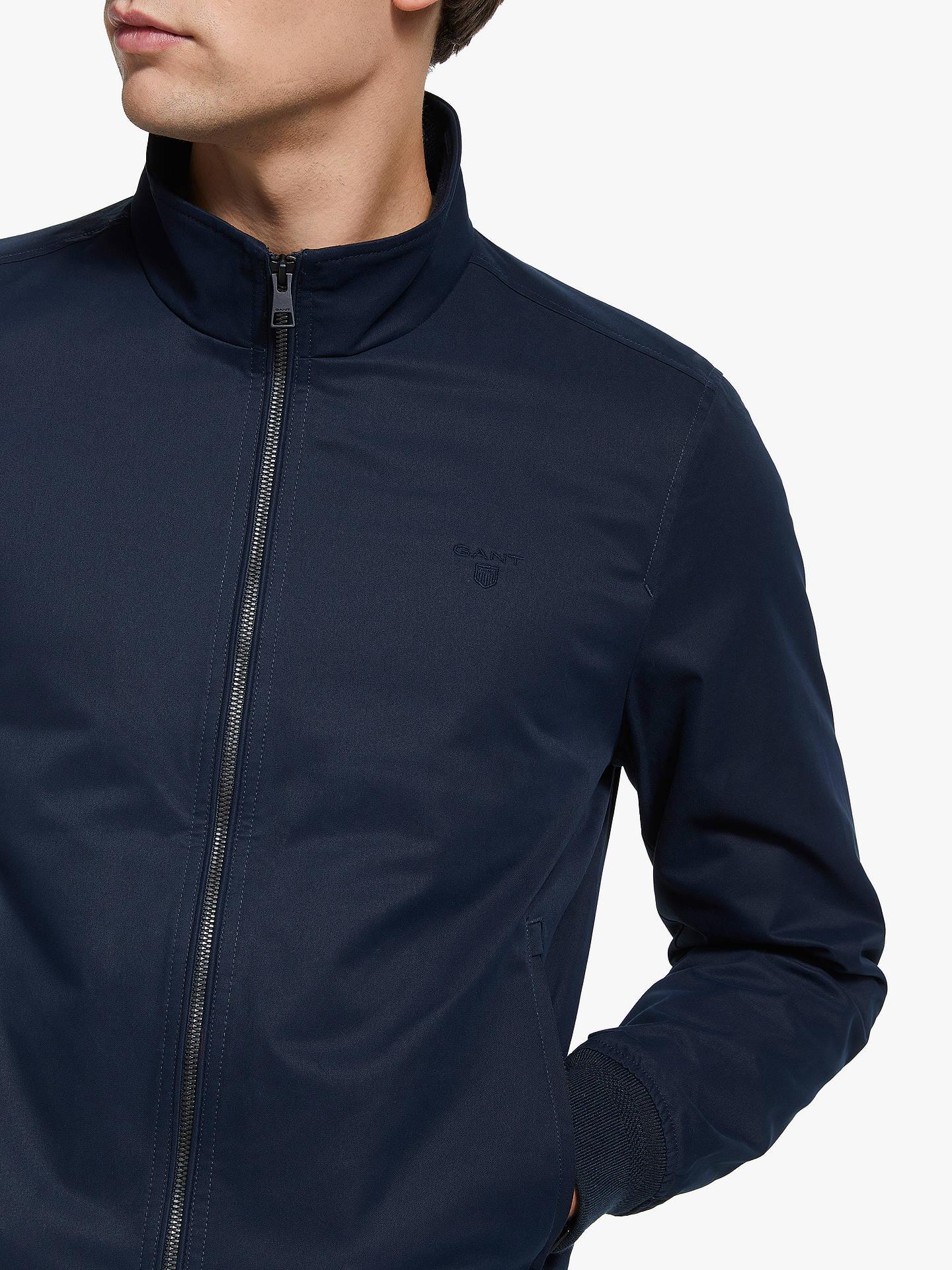 8250cffffa5 ... Buy GANT The Comfort Hampshire Jacket, Evening Blue, L Online at  johnlewis.com ...