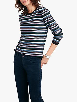 hush Rosaline Jumper, Blue Multi