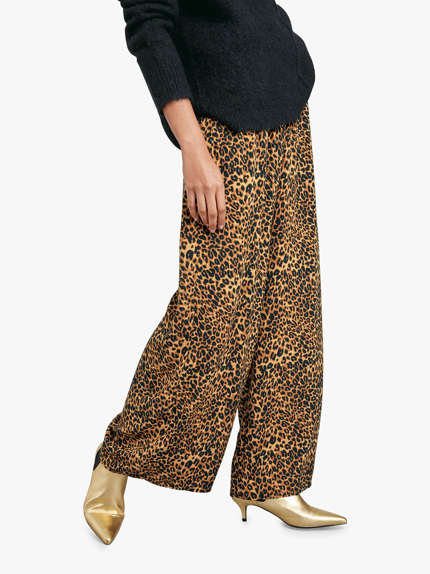 Buyhush Costello Printed Trousers, Brown, 12 Online at johnlewis.com