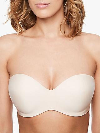 Chantelle Absolute Invisible Bra, Golden Beige