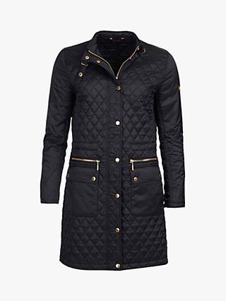 54515b4a4af Barbour International Port Gower Quilted Jacket