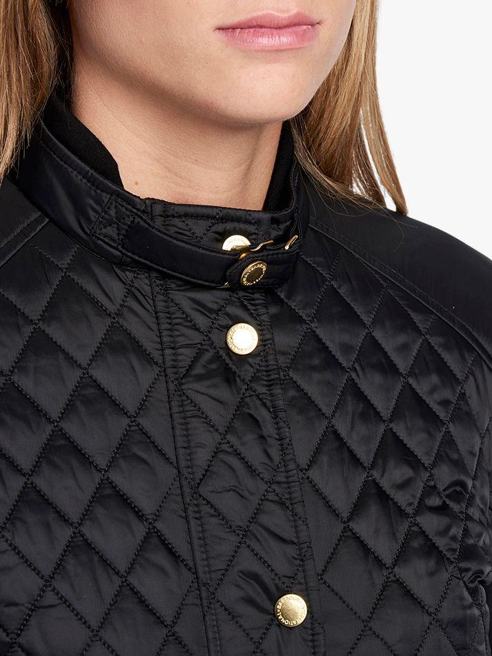 barbour international port gower quilted jacket