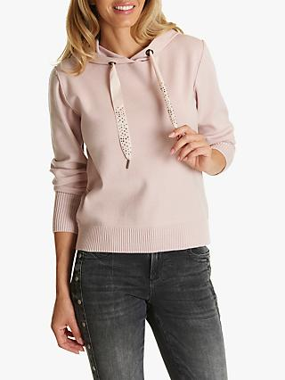 Betty & Co Embellished Drawstring Hoodie