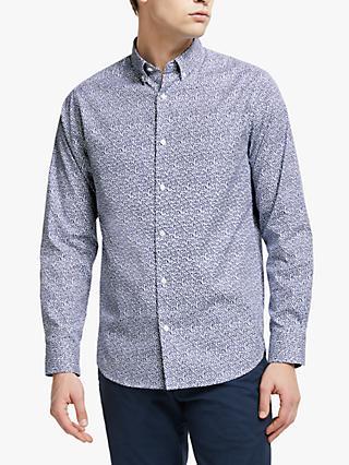 832ff856 GANT Rose Dot Print Shirt, Blue