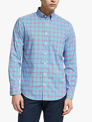 GANT Broadcloth Three Colour Gingham Shirt