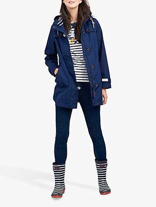 Joules Coast Hooded Long Jacket