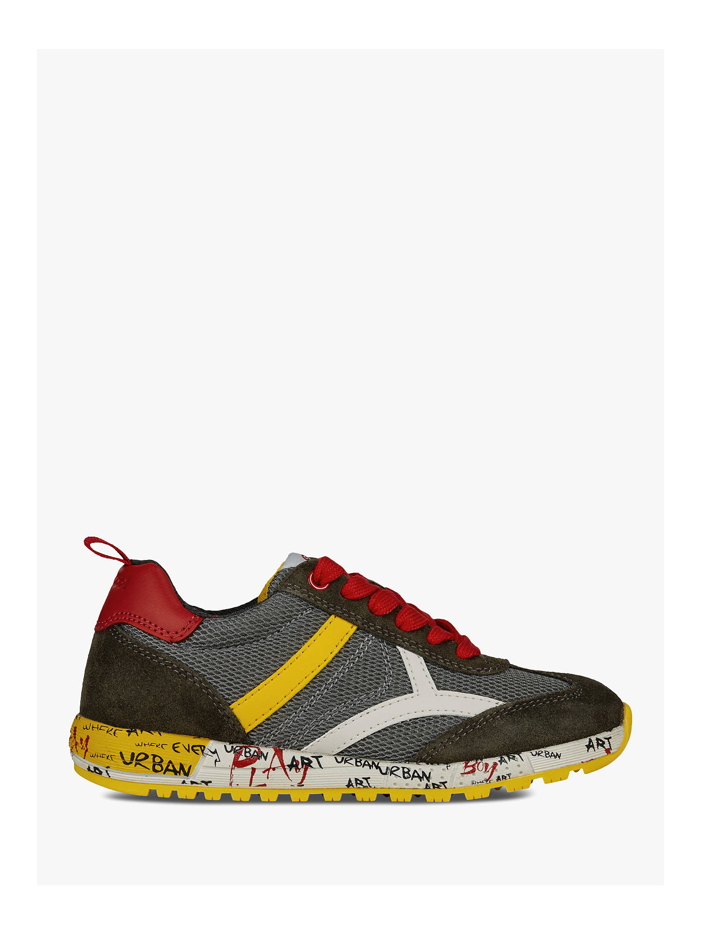 new style 70e85 dab88 Geox Children's Alben B Shoes at John Lewis & Partners