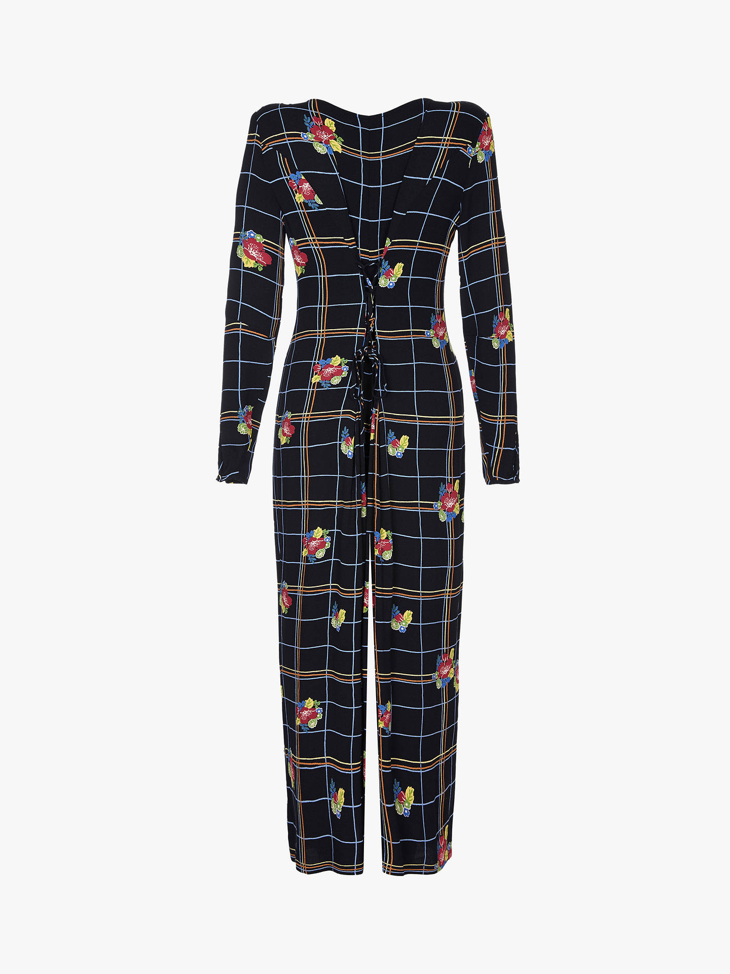 c49063c2e69 Buy Ghost Bay Check and Floral Culotte Jumpsuit