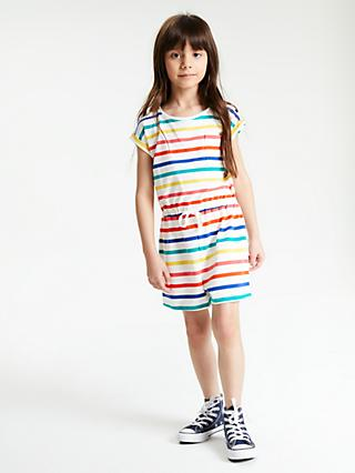 b4a0d5d0de John Lewis   Partners Girls  Stripe Playsuit