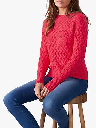 Pure Collection Cable Knit Jumper
