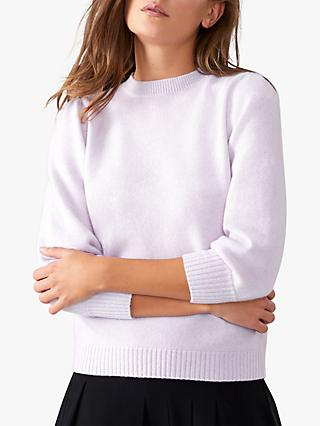 Pure Collection Toccato Blouson 3/4 Sleeve Jumper