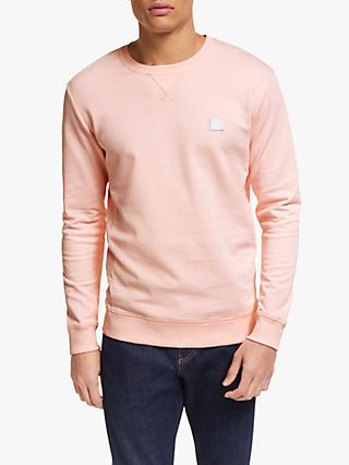 Les Deux Patch Embroidery Sweatshirt, Rose