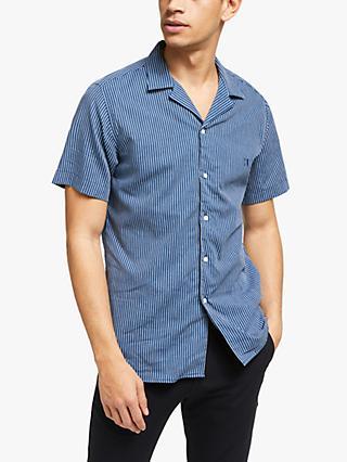 8b81b1f6e0ea Les Deux Short Sleeve Stripe Shirt