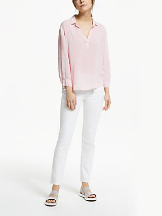 Velvet by Graham & Spencer Eliza Blouse, Pale Pink