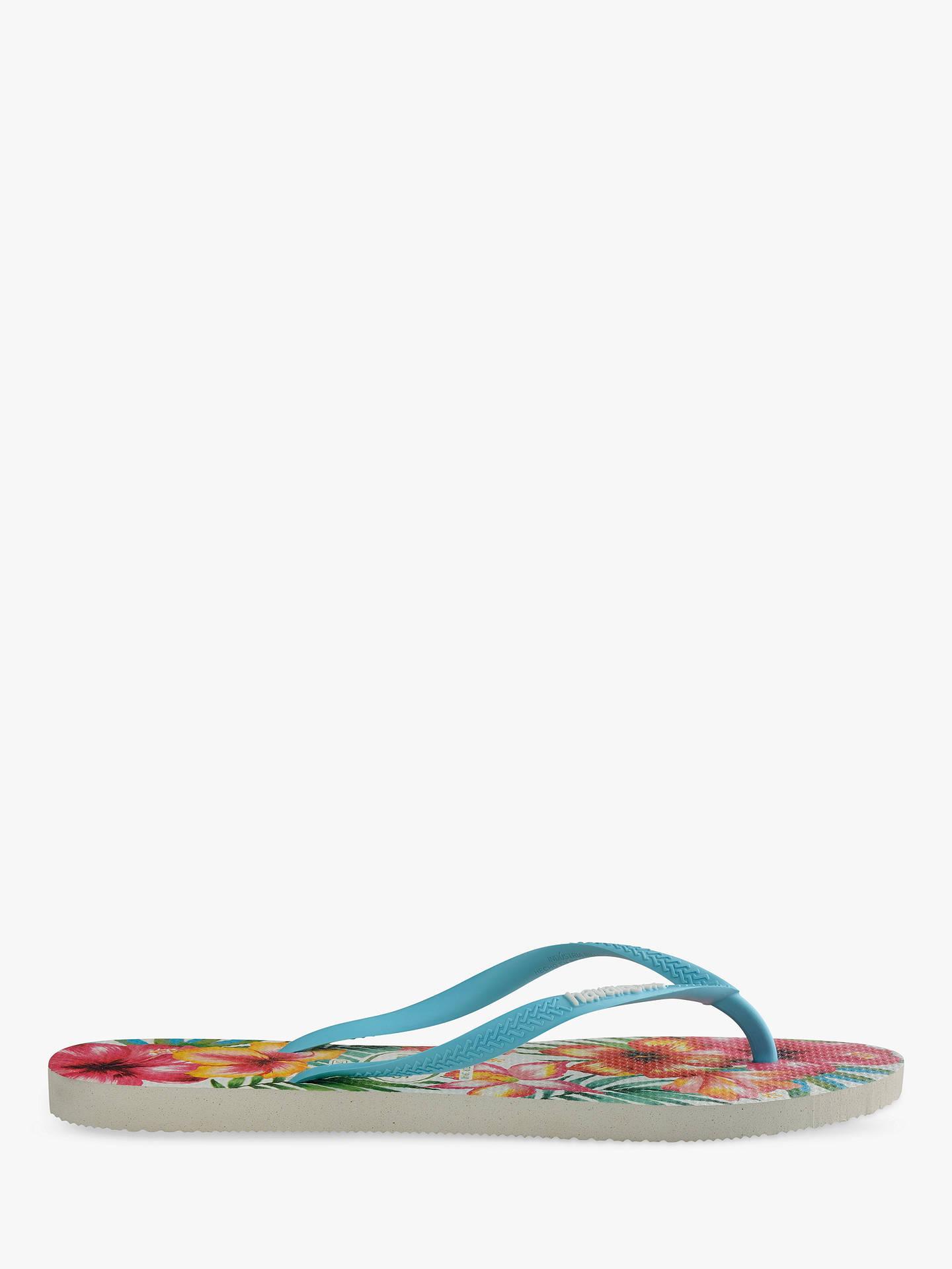 5a6a29e5bbaa57 Buy Havaianas Slim Tropical Flowers Flip Flops