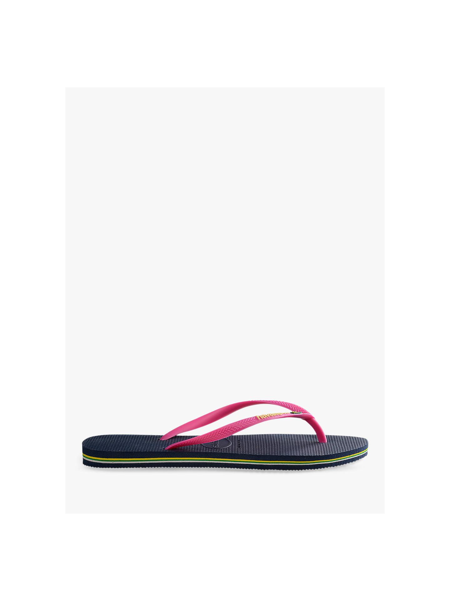 79fc578dd9fc Buy Havaianas Slim Brasil Logo Flip Flops