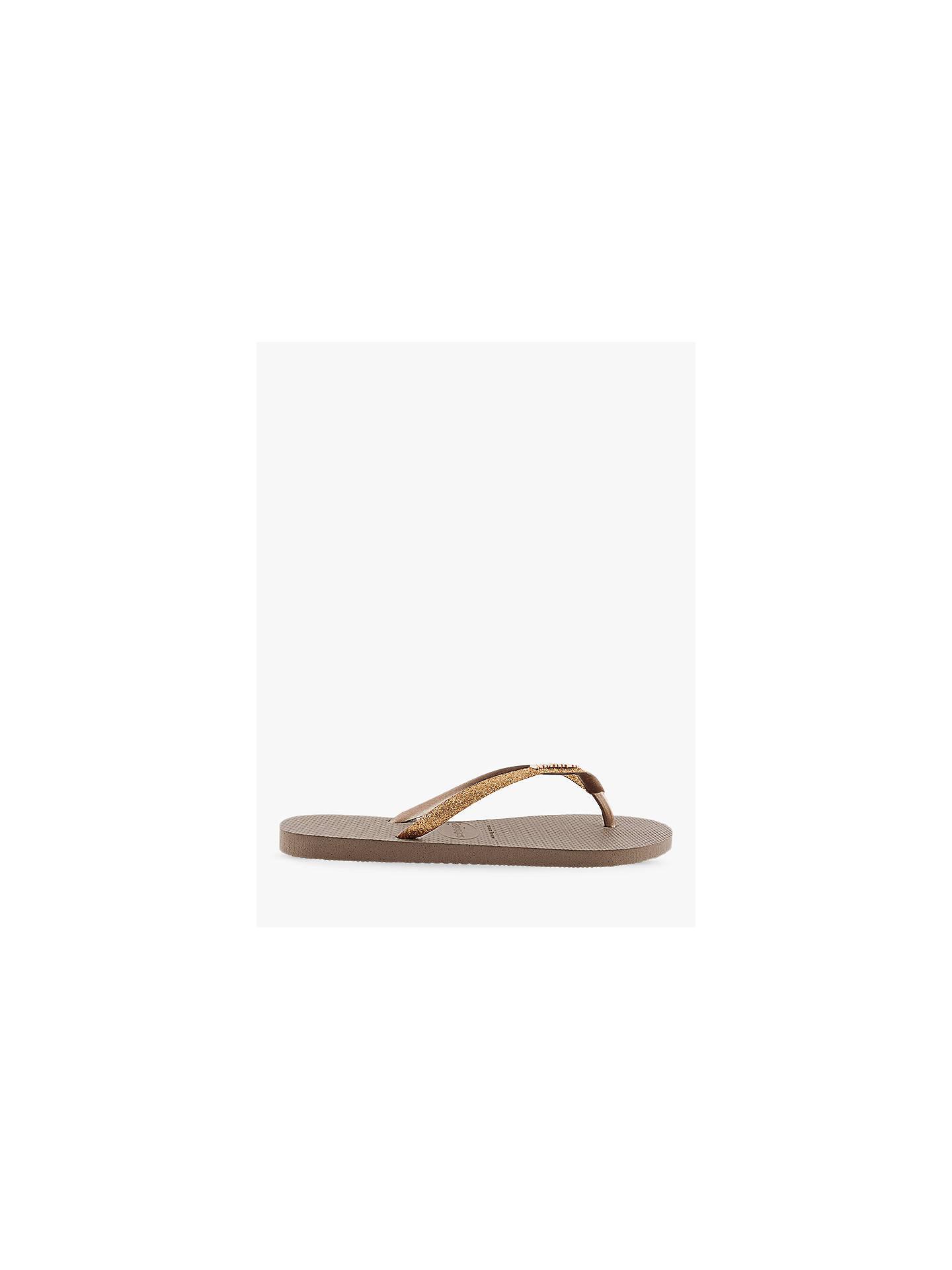 96adb2f1c9d Buy Havaianas Slim Glitter Flip Flops