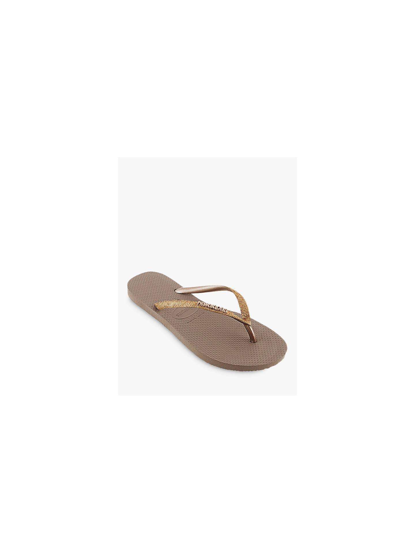 2fc4383967eb ... Buy Havaianas Slim Glitter Flip Flops