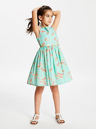 8859c887727 John Lewis   Partners Girls  Butterfly Print Dress