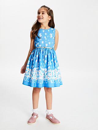 96fbc0c447 John Lewis   Partners Girls  Daisy Floral Print Dress