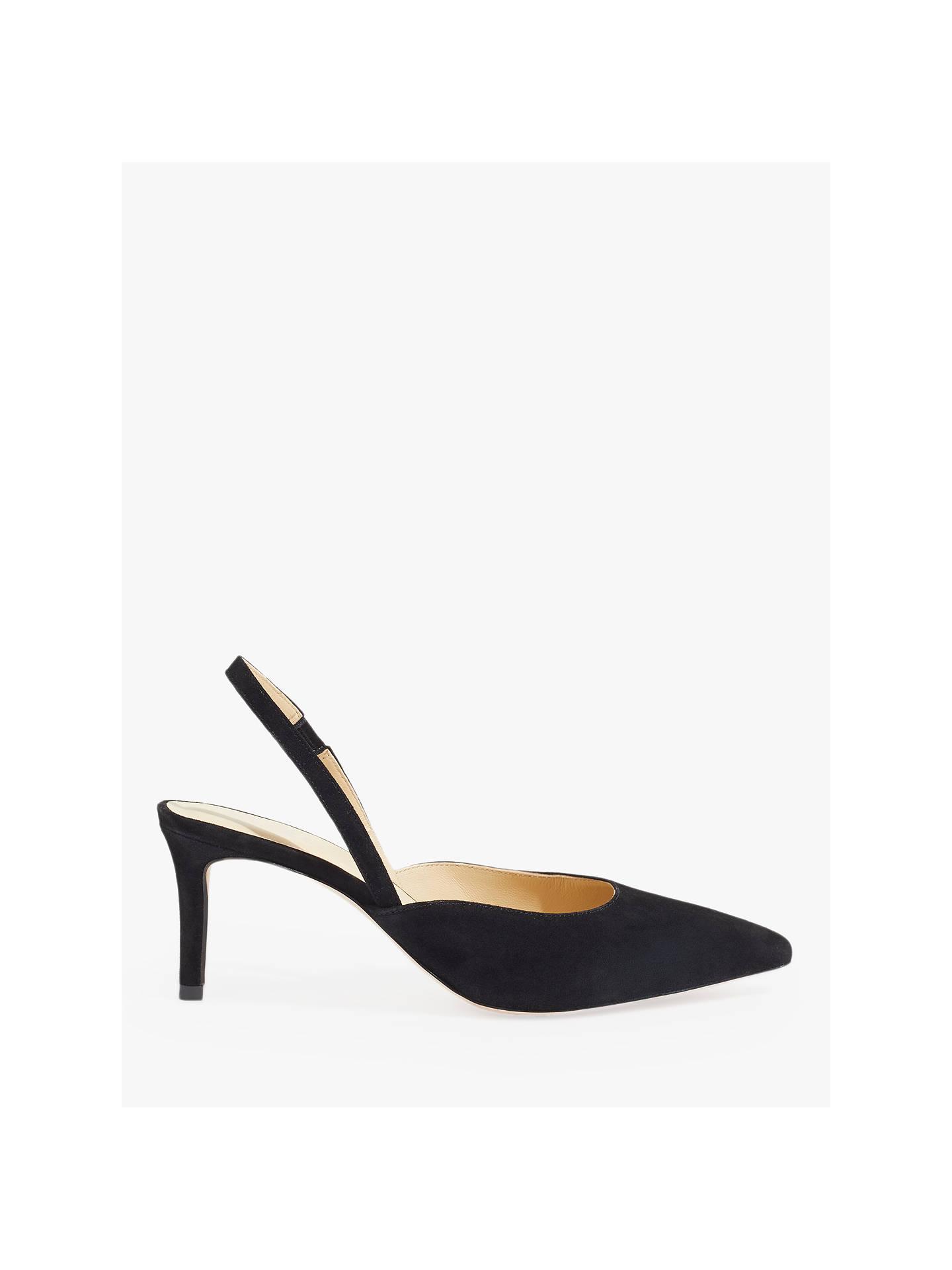 6943bee61283 Buy Jigsaw Ffion Suede Heeled Slingback Sandals