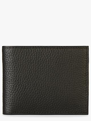 Jaeger Leather Billfold Wallet, Black