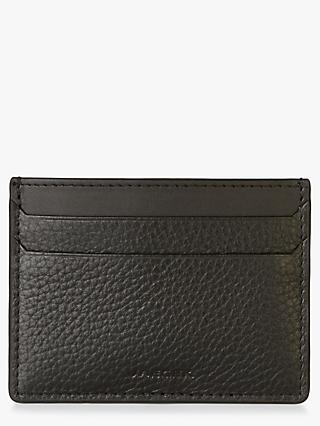 Jaeger Leather Card Holder, Black