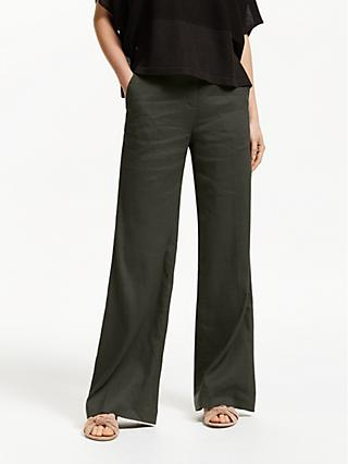 Modern Rarity Wide Leg Linen Trousers