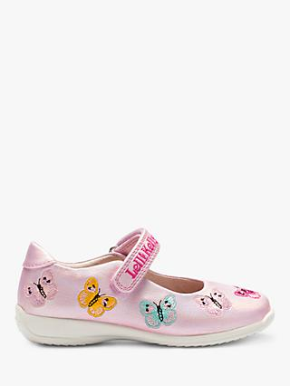 baf4fee96d766 Lelli Kelly Children's Kate Butterfly Dolly Shoes, Pearled Pink