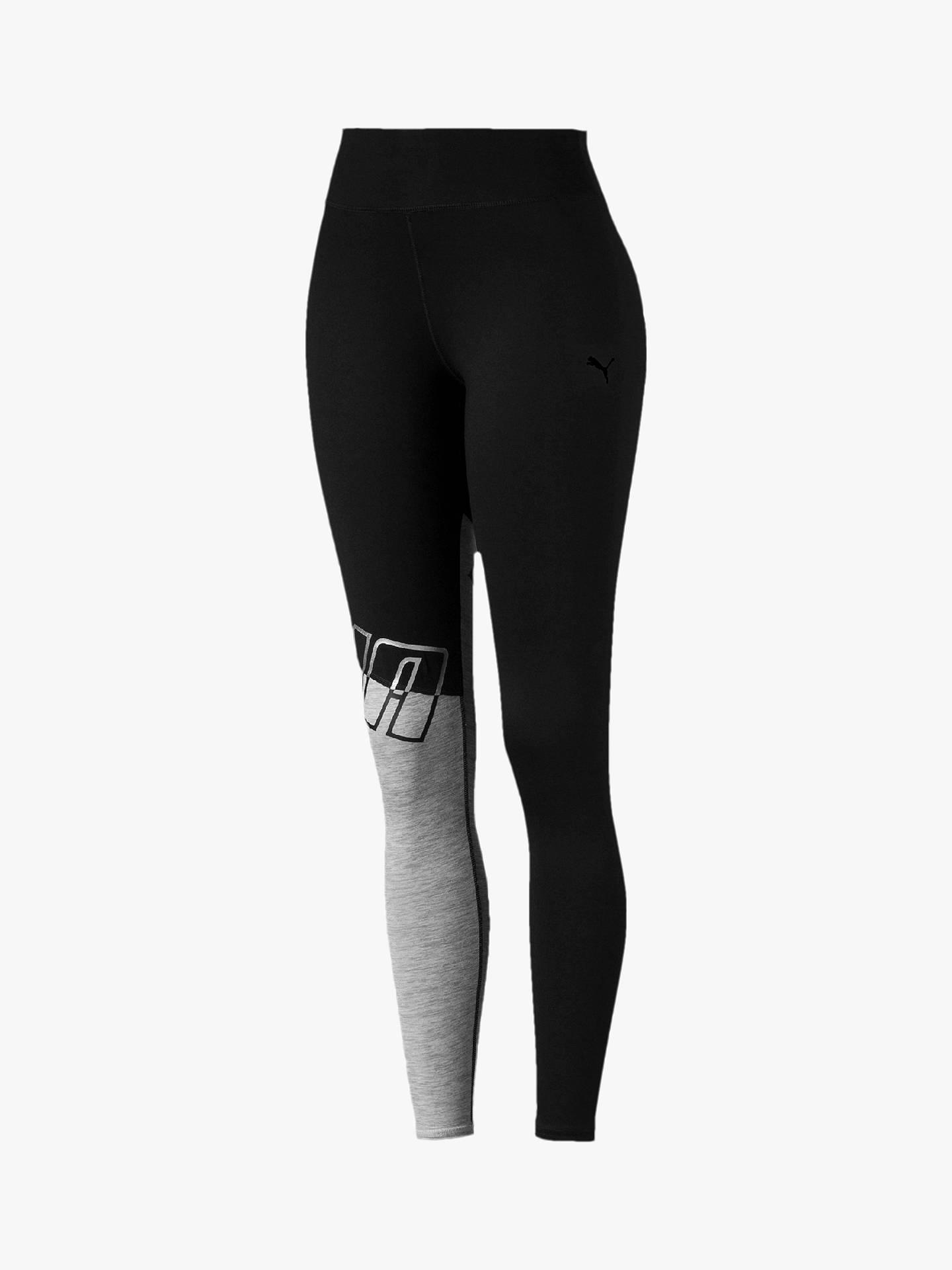 57ab9f88af Buy PUMA All Me 7/8 Training Leggings, Black/Dark Grey Heather, ...