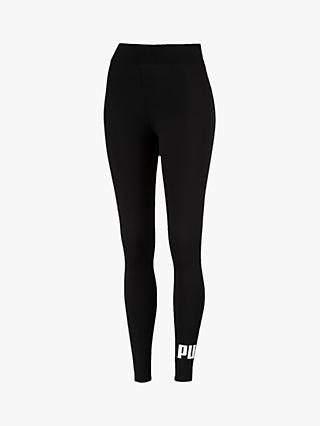 PUMA Essential Logo Leggings, Black