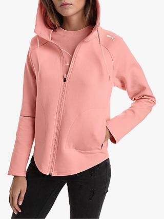 PUMA Evostripe Hooded Jacket, Pink