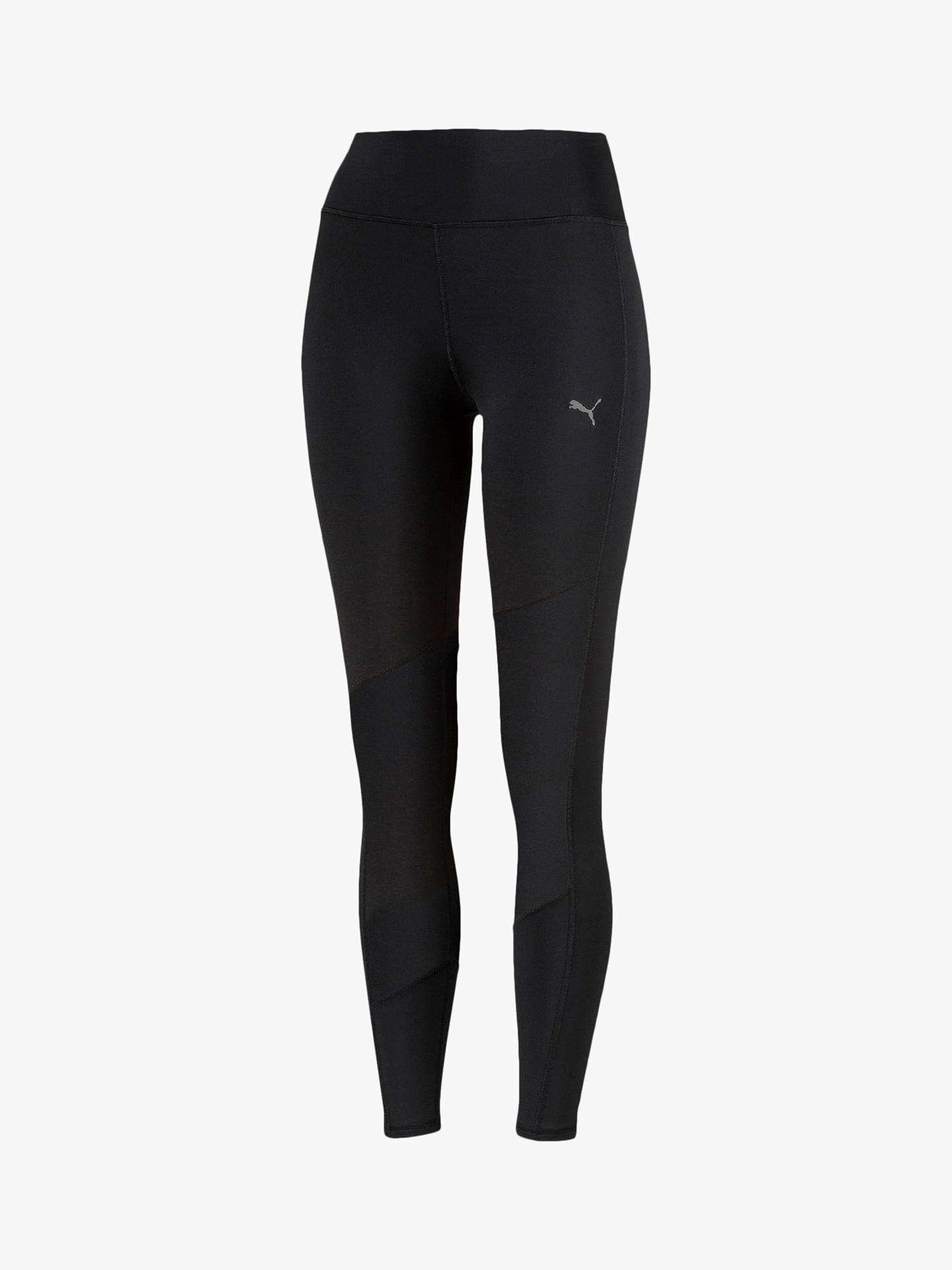 Storbritannien stor rabatt nytt koncept PUMA Always Solid 7/8 Leggings, Black at John Lewis & Partners