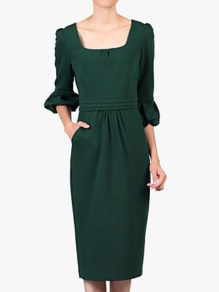 Jolie Moi Pencil Midi Dress
