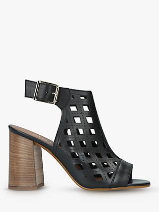81ca81c0e58b Carvela Arc Laser Cut Block Heel Sandals