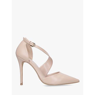 Carvela Killer Cross Strap Stiletto Heel Court Shoes