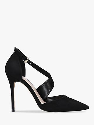 Carvela Killer Cross Strap Stiletto Heel Court Shoes