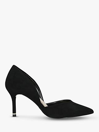 Carvela Lady Cut Out Stiletto Heel Court Shoes