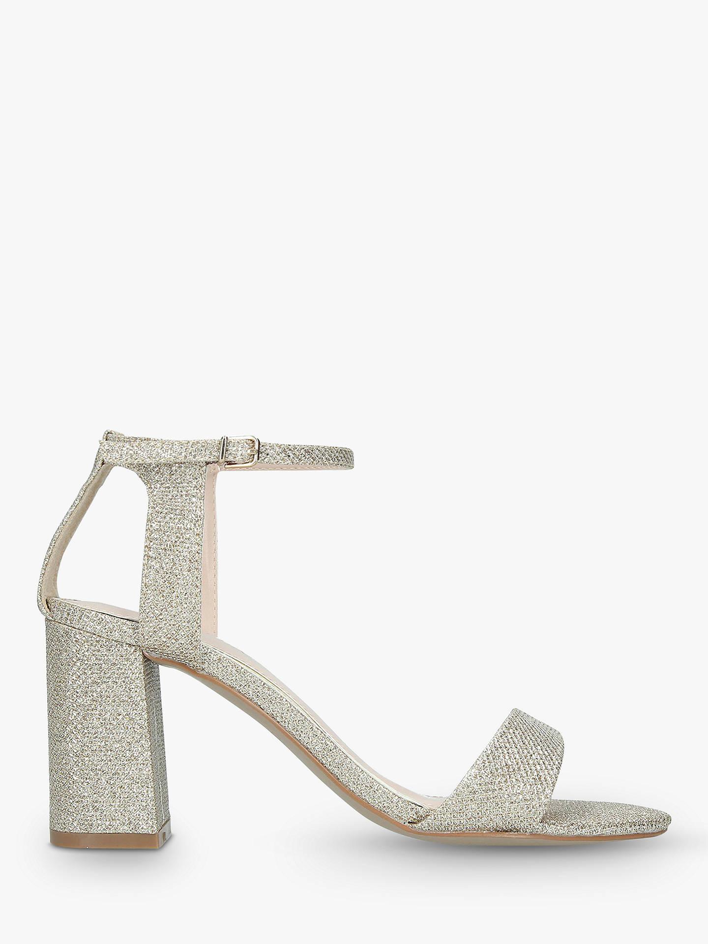 5903da9583f Carvela Kiki Block Heel Sandals, Gold