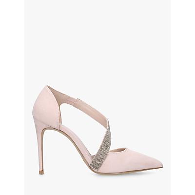 Carvela Artemidis Curved Strap Stiletto Heel Court Shoes