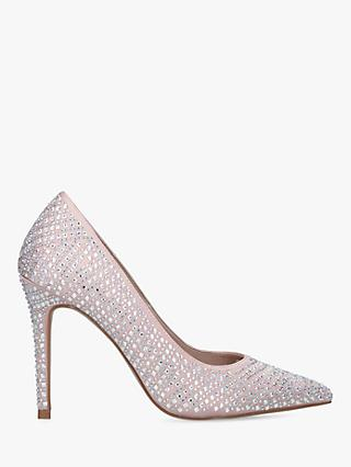 Carvela Lovebird Sparkle Stiletto Court Shoes
