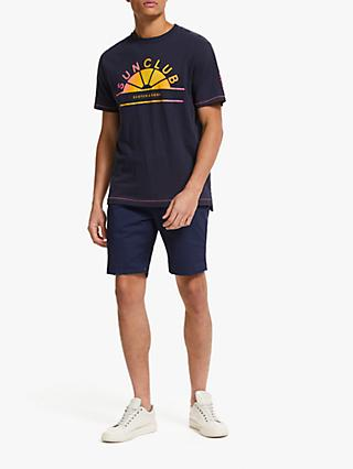 Scotch & Soda Art Short Sleeve T-Shirt, Night