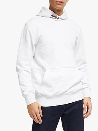Scotch & Soda Tape Hoodie, Denim White